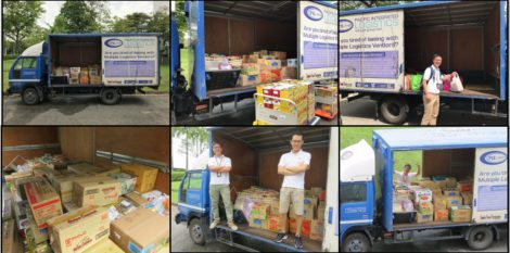 Extending a Helping Hand to Support a Food Donation Drive this Christmas Season